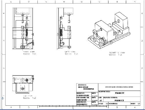 طراحی دستگاه تراش نمونه اولیه